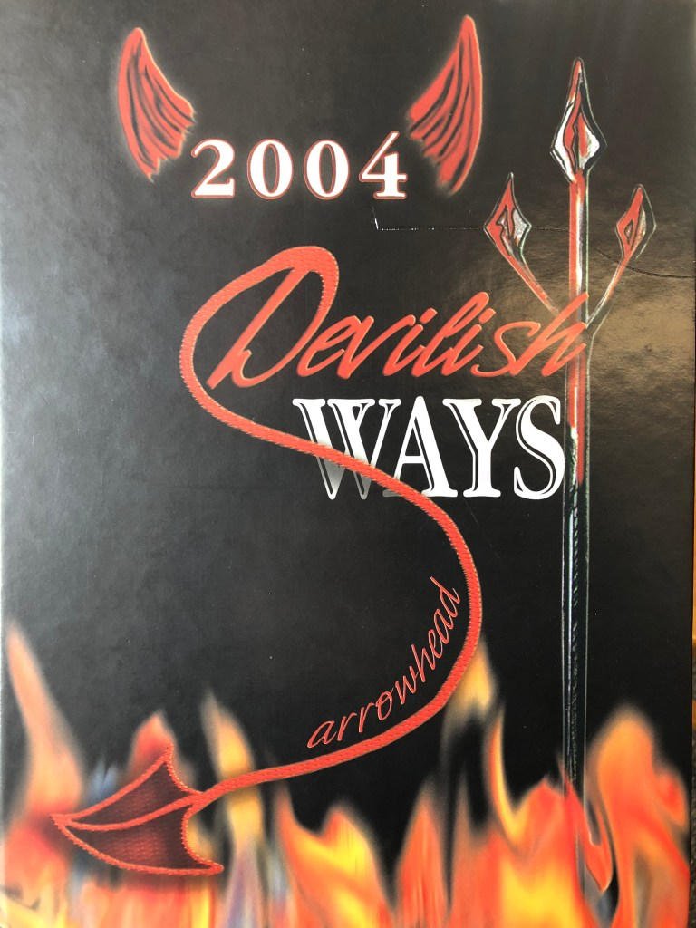Class of 2004 Burlington MA High School yearbook cover