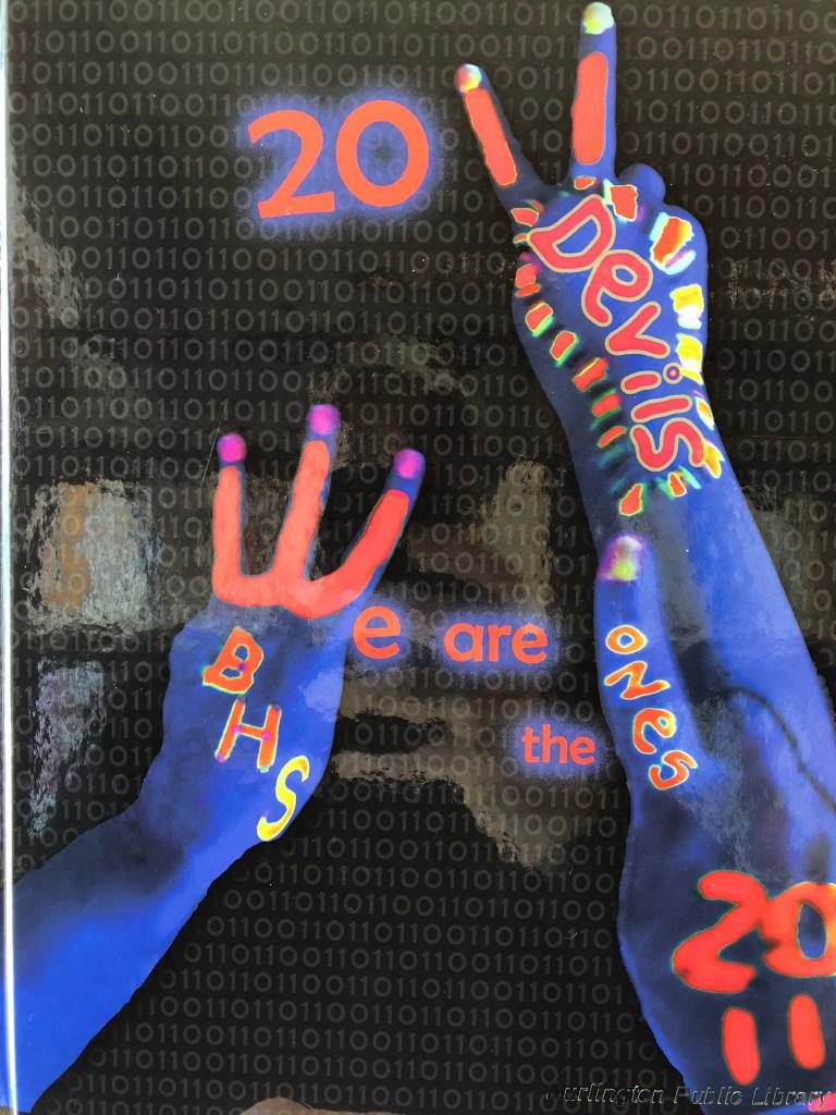 Burlington MA High School 2011 yearbook