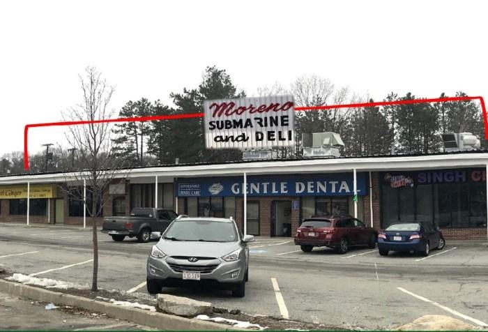 Moreno's Pizza and Deli, Burlington MA