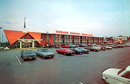 Howard Johnson Motor Lodge Burlington MA 1