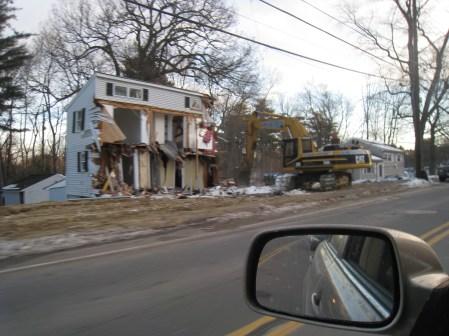 Winn St. houses razed 1