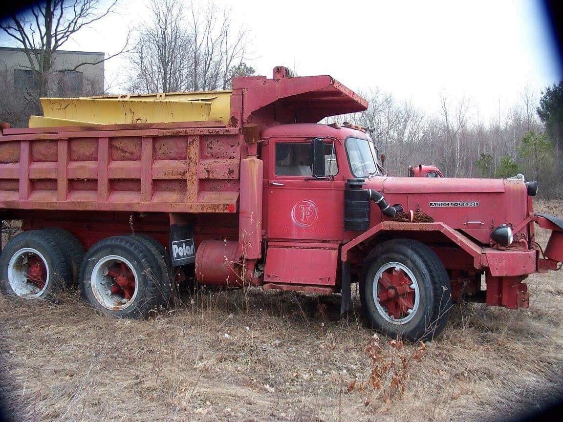 Thorstensen & Parker trucks at Holly Glen area, Burlington MA