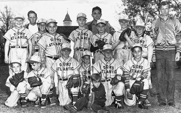 1952 Dom's Atlantic little league team, Burlington MA
