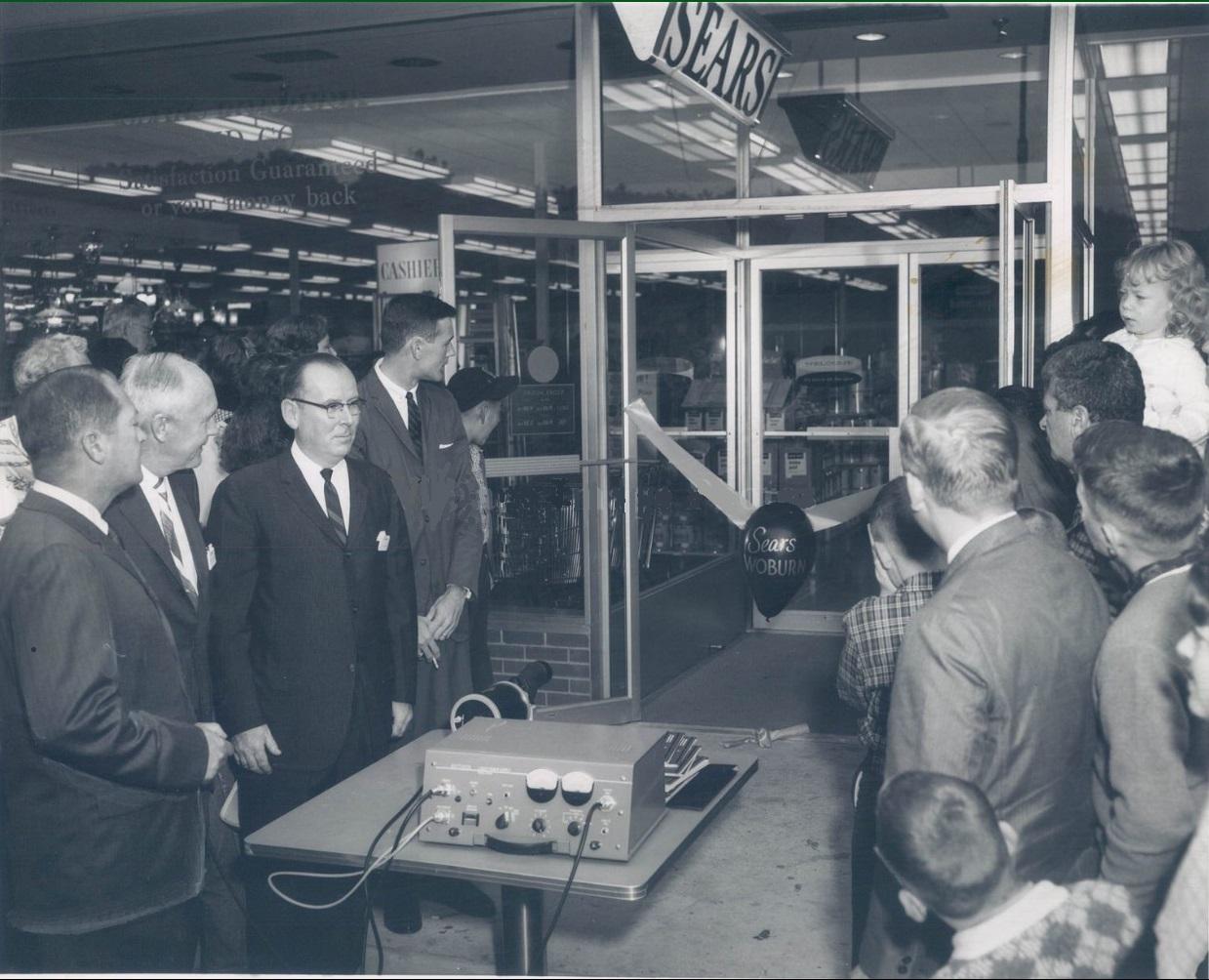 Sears Woburn grand opening