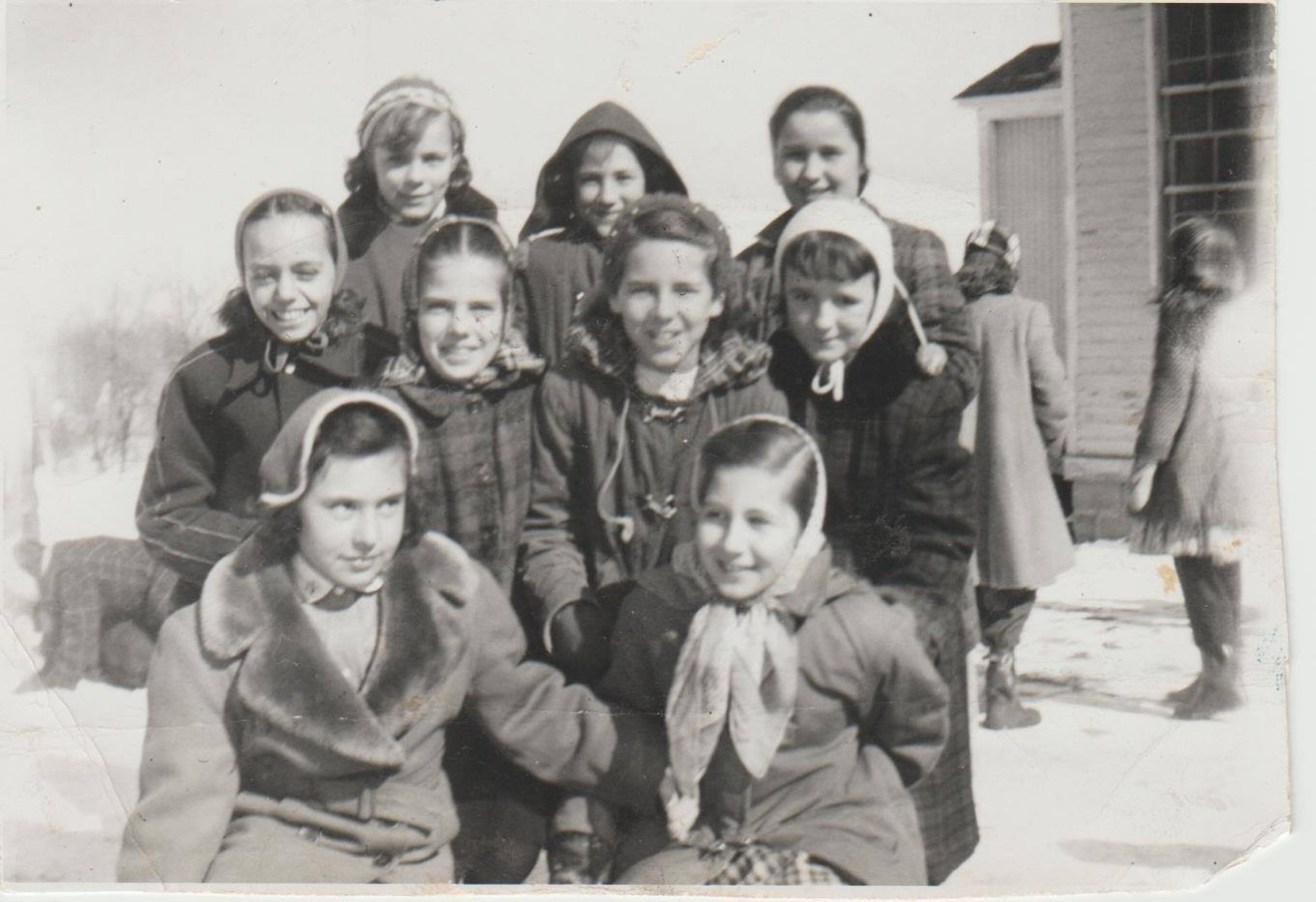 Union School students, mid 1950s, fifth and sixth graders. Photo credit. Dayle Caterino