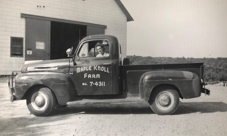 Maple Knoll Farm truck, Burlington MA