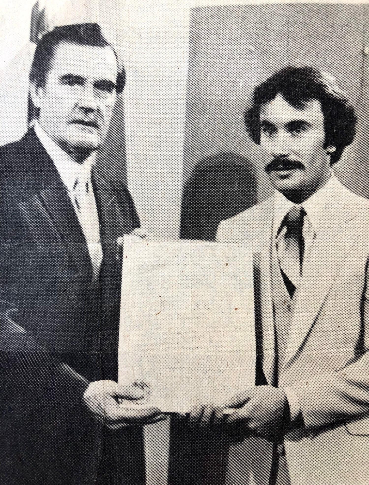 Gov. King and Donahue