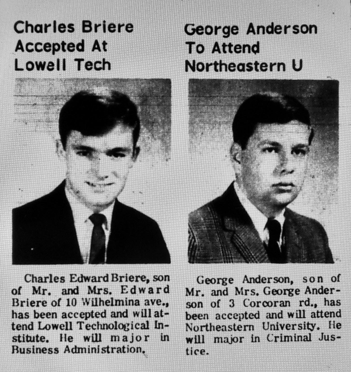 Charles Briere George Anderson Burlington MA
