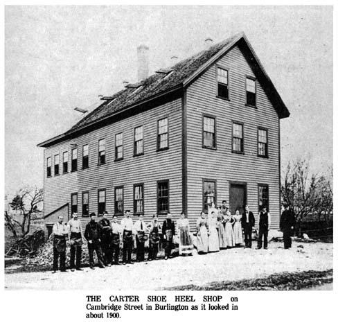 Carter Shoe Heel Shop Cambridge St. Burlington 1900