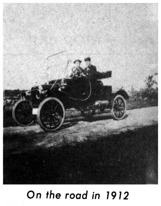 1912 car Burlington MA