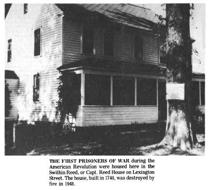 Captain Reed house Lexington Street