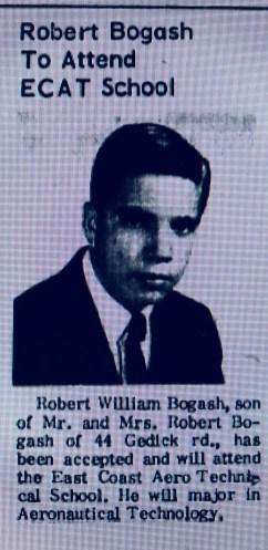 Robert Bogash East Coast Aerotech Burlington MA