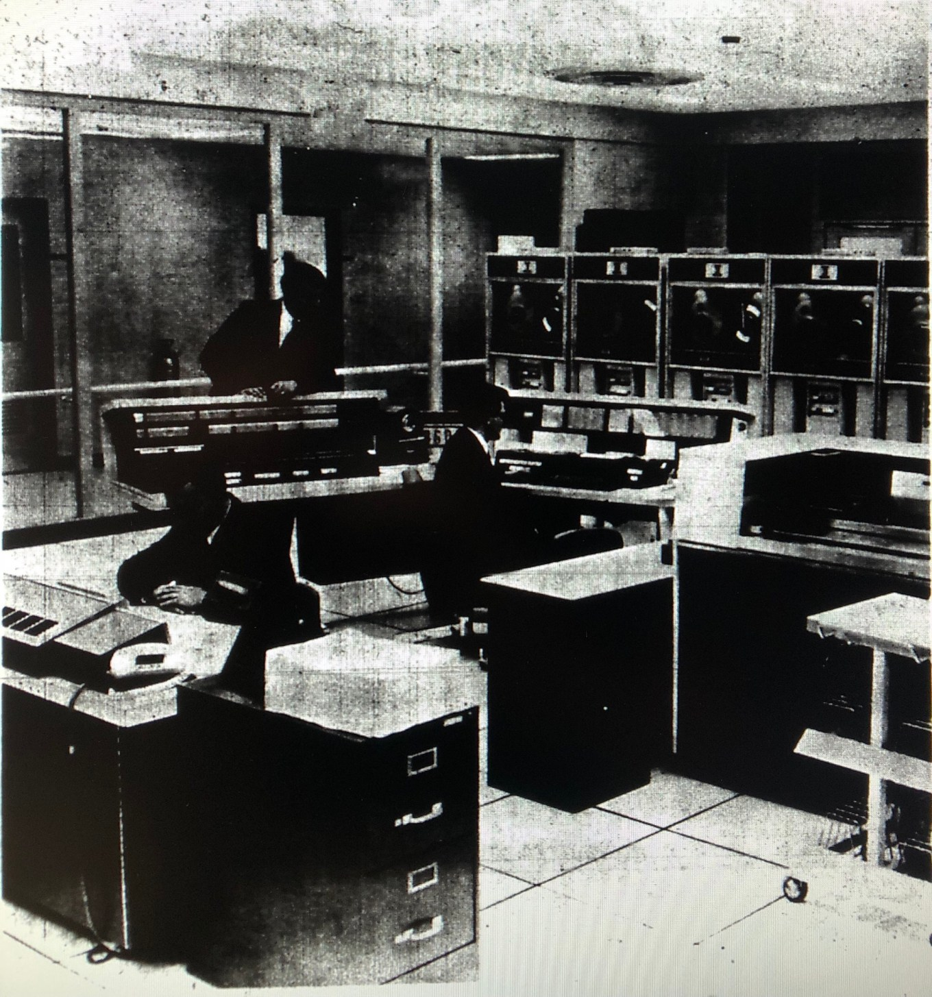 Control Data Institute computer room