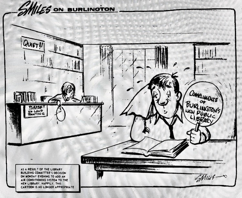 Smiles Library A/C cartoon