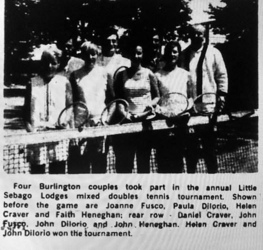 Sebago Lodges tennis tournament