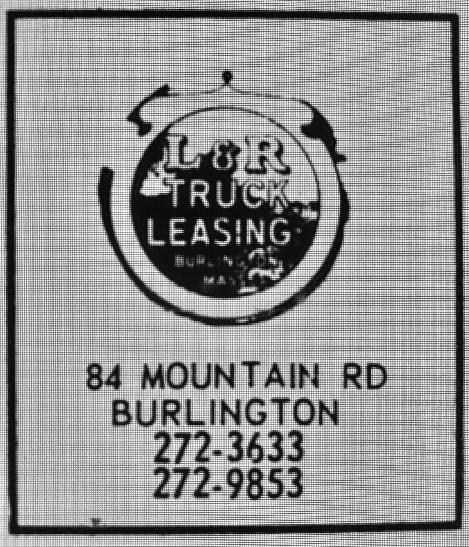 L&R Truck Leasing, Burlington MA