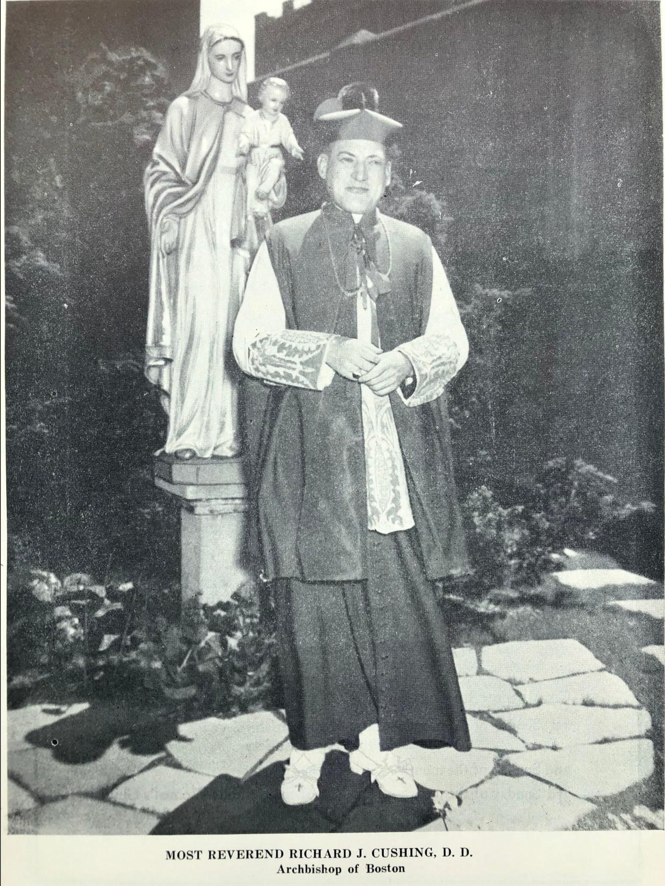 Boston Archbishop Richard J. Cushing