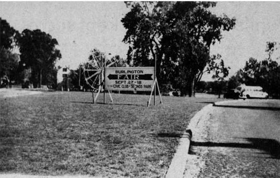 Burlington Civic Club fairgrounds, Burlington MA