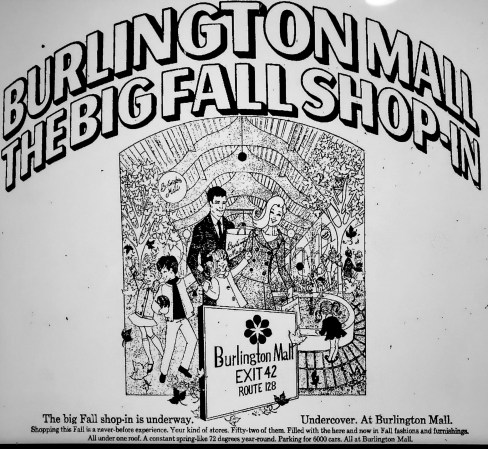 Burlington Mall ad 1968
