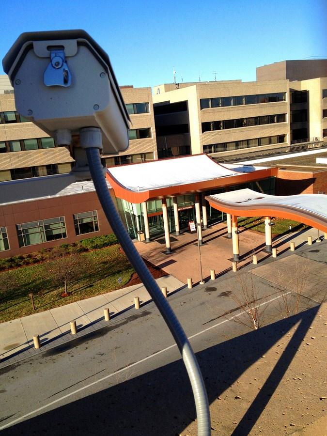 Lahey Clinic camera, Burlington, MA