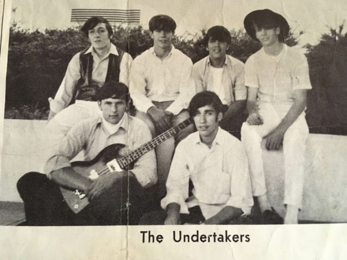 The Undertakers, black and white
