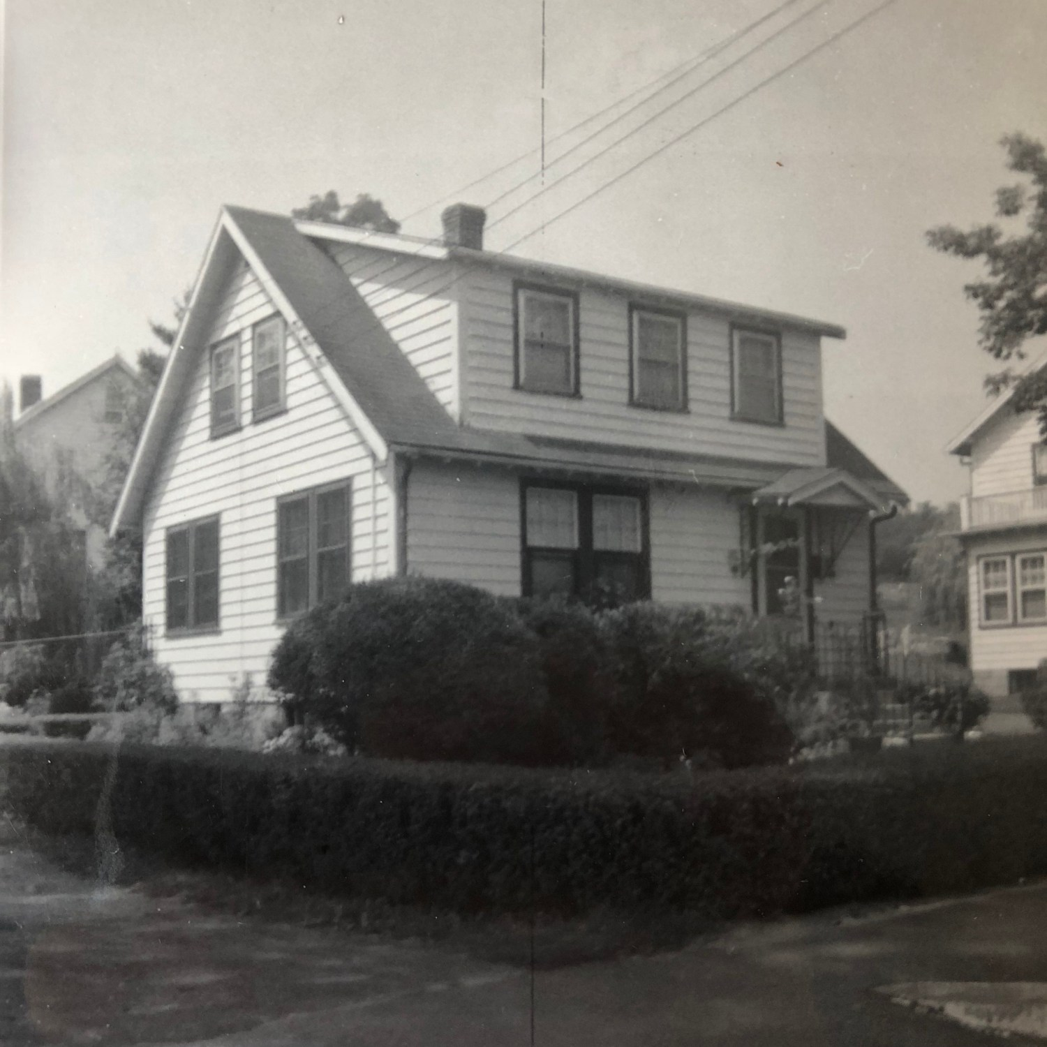 Regan house, c 1950, Burlington MA