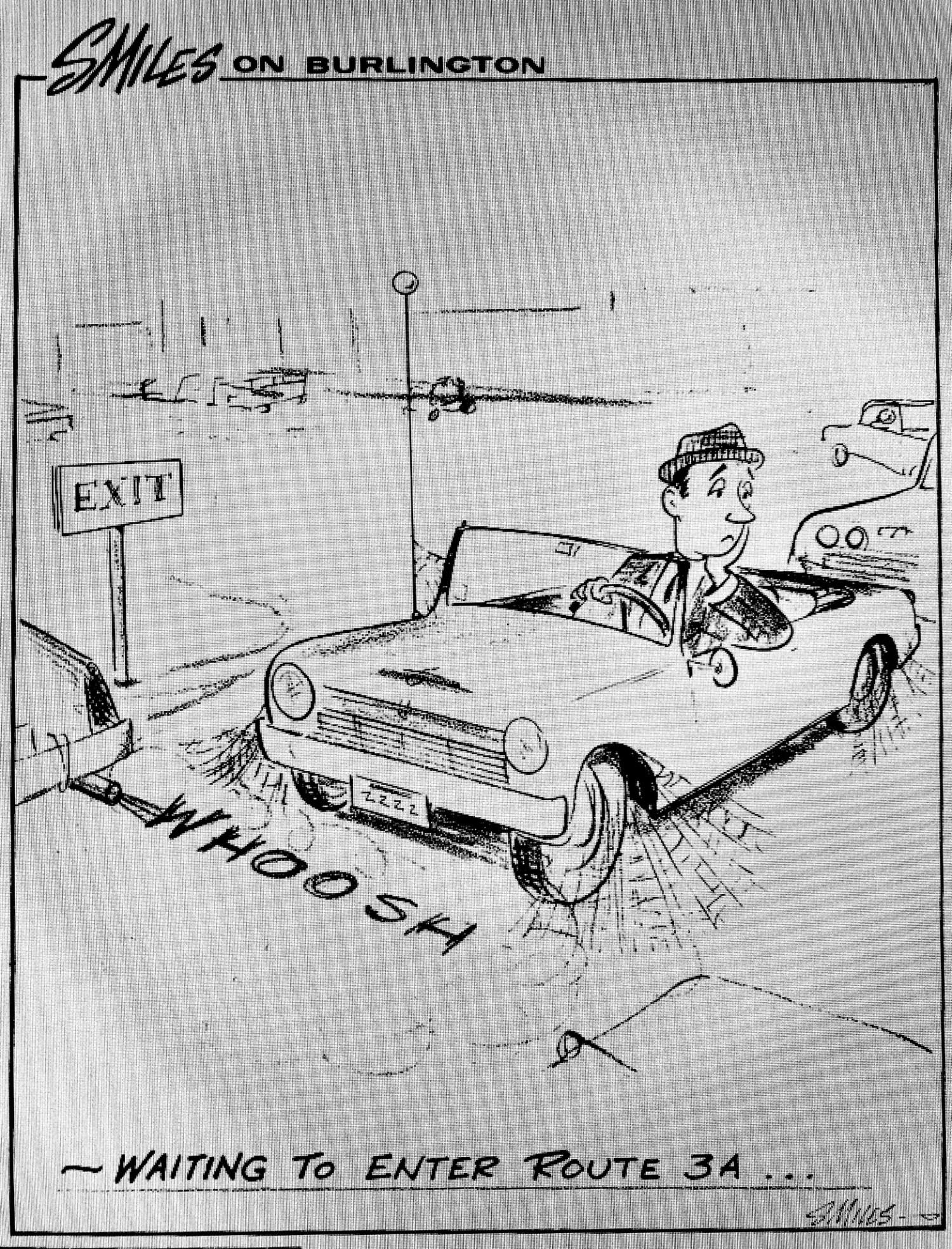 Smiles Route 3A cartoon