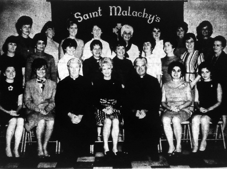 St. Malachy's group pic, Burlington MA