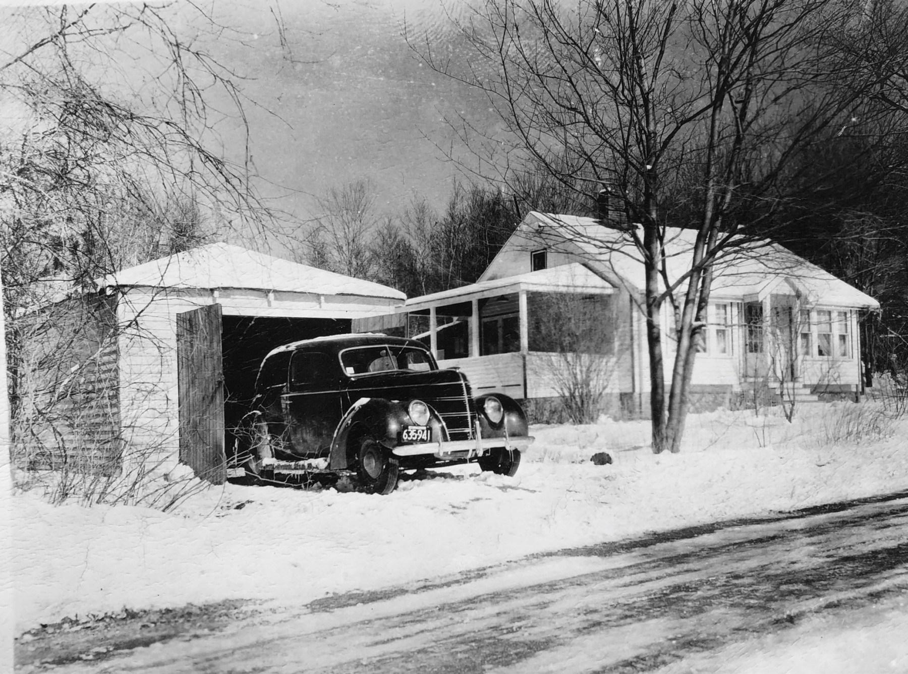 Wayne's house and car, Burlington MA