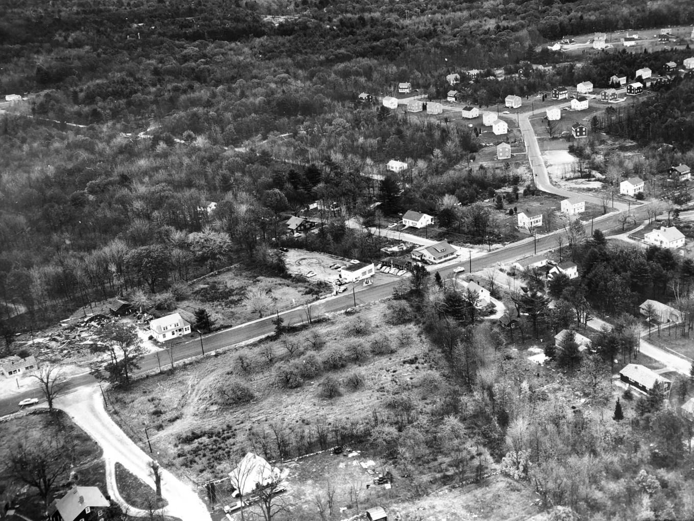 Cambridge Street aerial Burlington MA