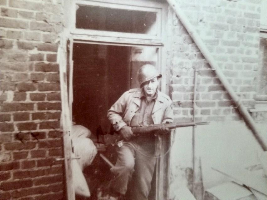John DuCett in WWII, 1945