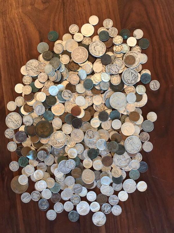 Found coins Burlington MA