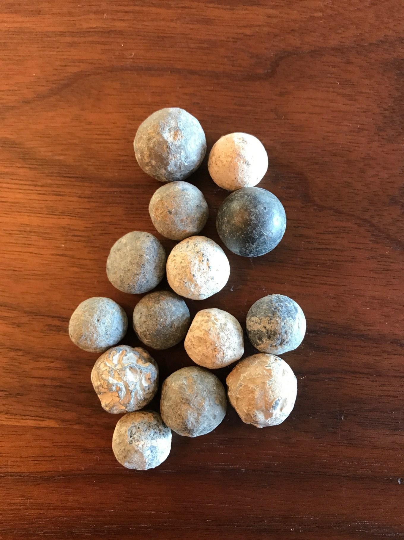 Musket balls Burlington MA