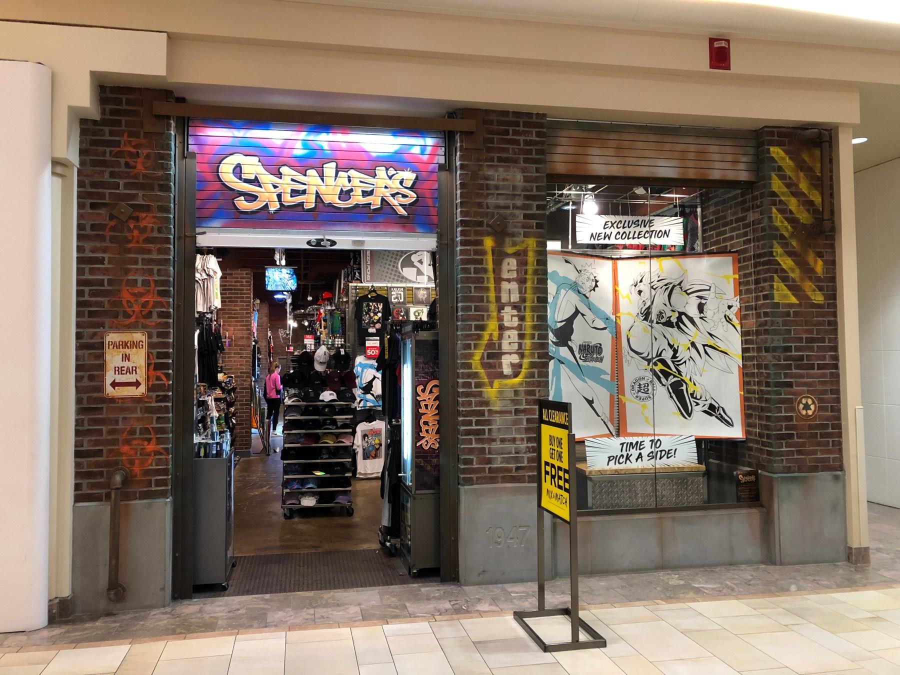 Spencer's Gifts Burlington Mall
