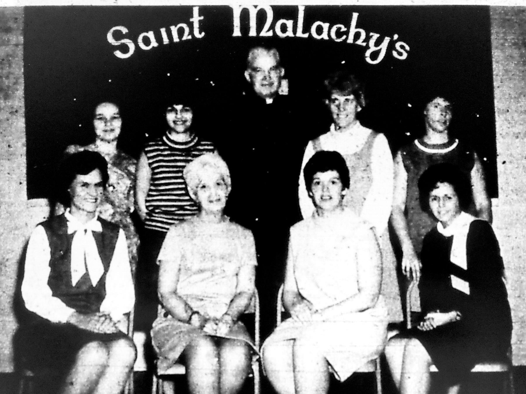 St. Malachy's spring fashion show committee, Burlington MA