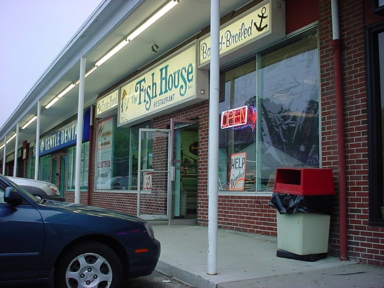 Fish House restaurant, Burlington MA around 1990. Photo credit: Ropes Can