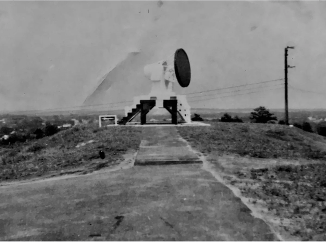 Missile tracking radar