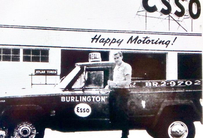 Burlington Esso Jack Kilmartin ad 2 Burlington MA