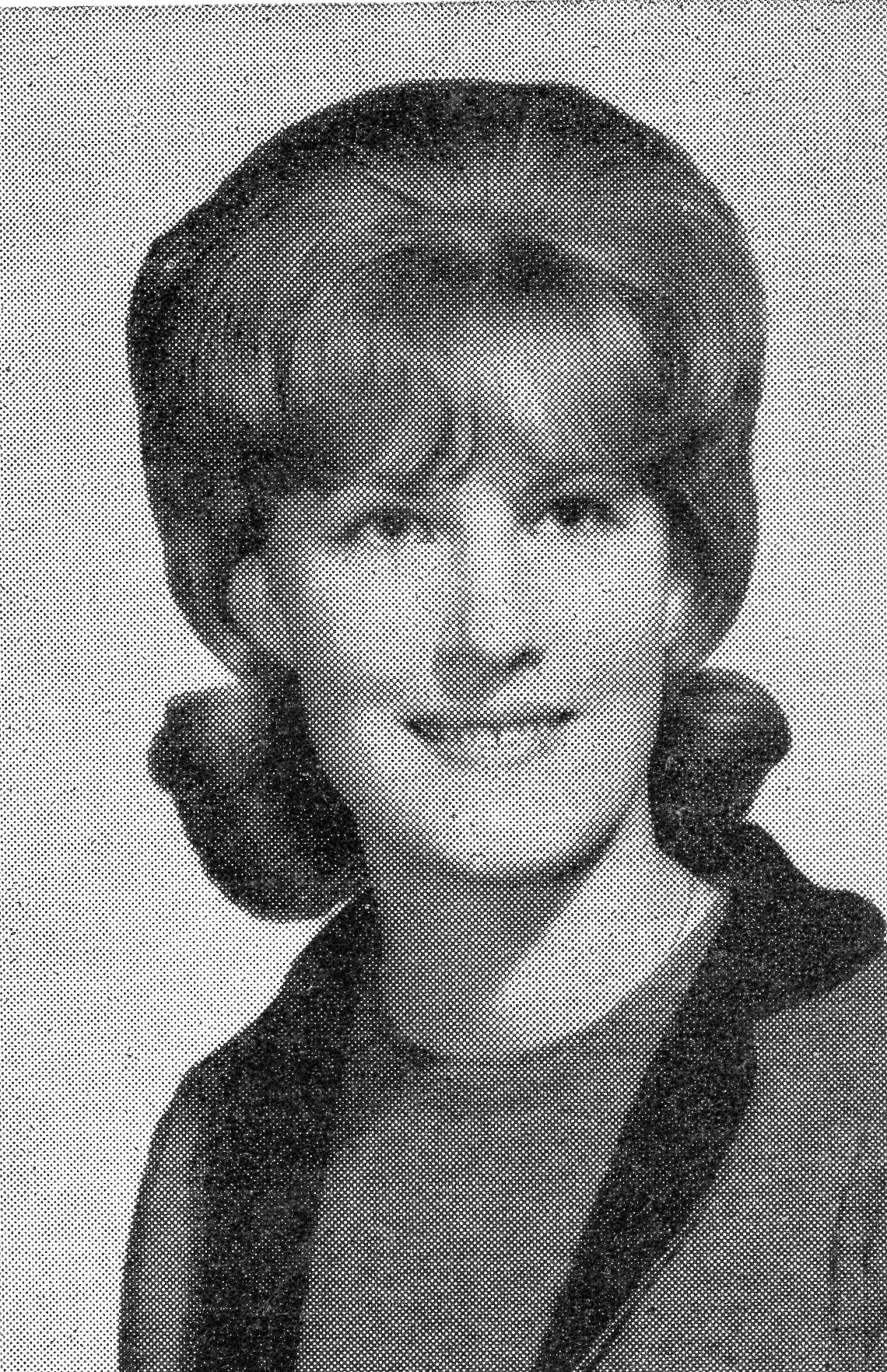 Christine Frances Duncan, vocalist