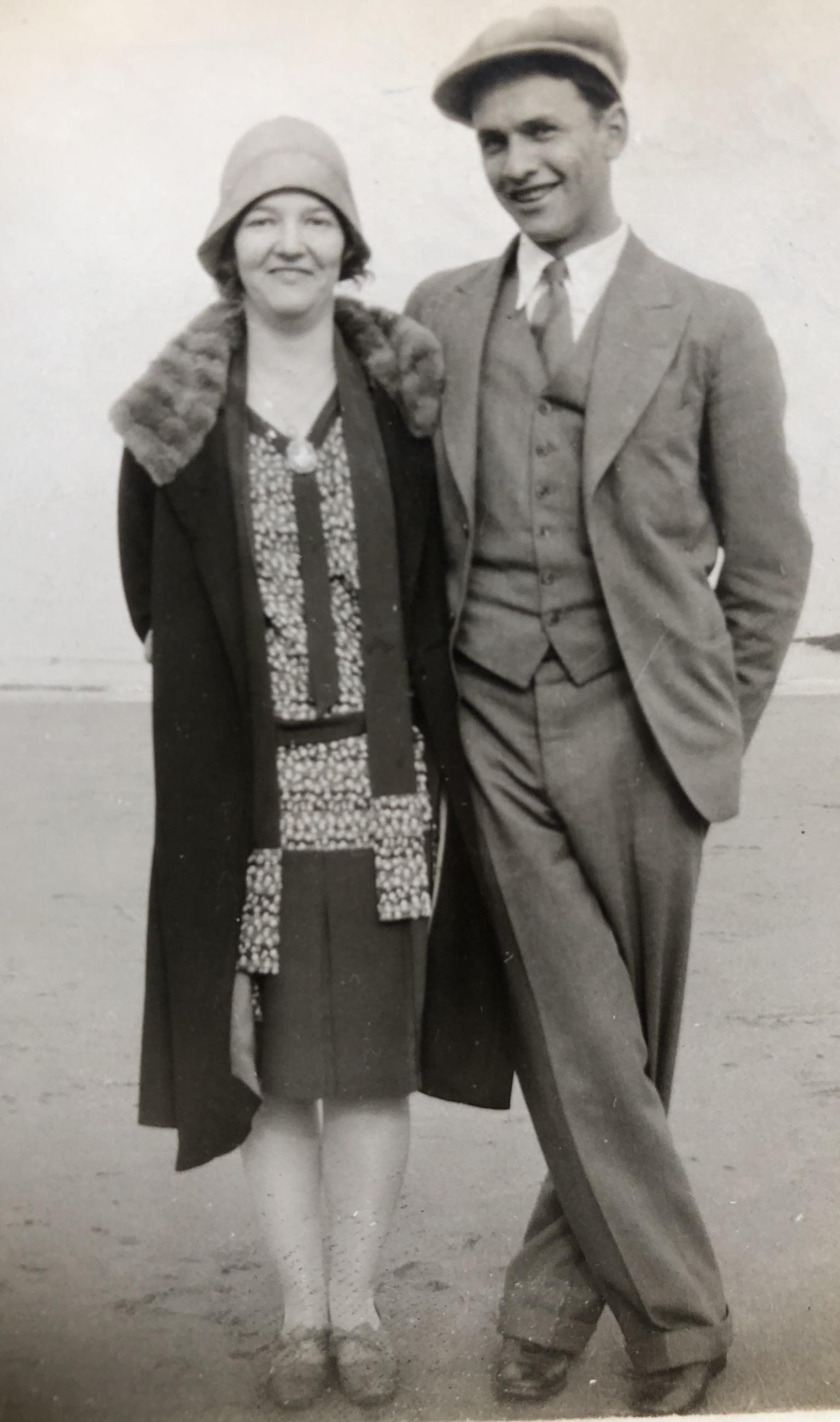 Alice Bustead Carpenter and Robert Carpenter