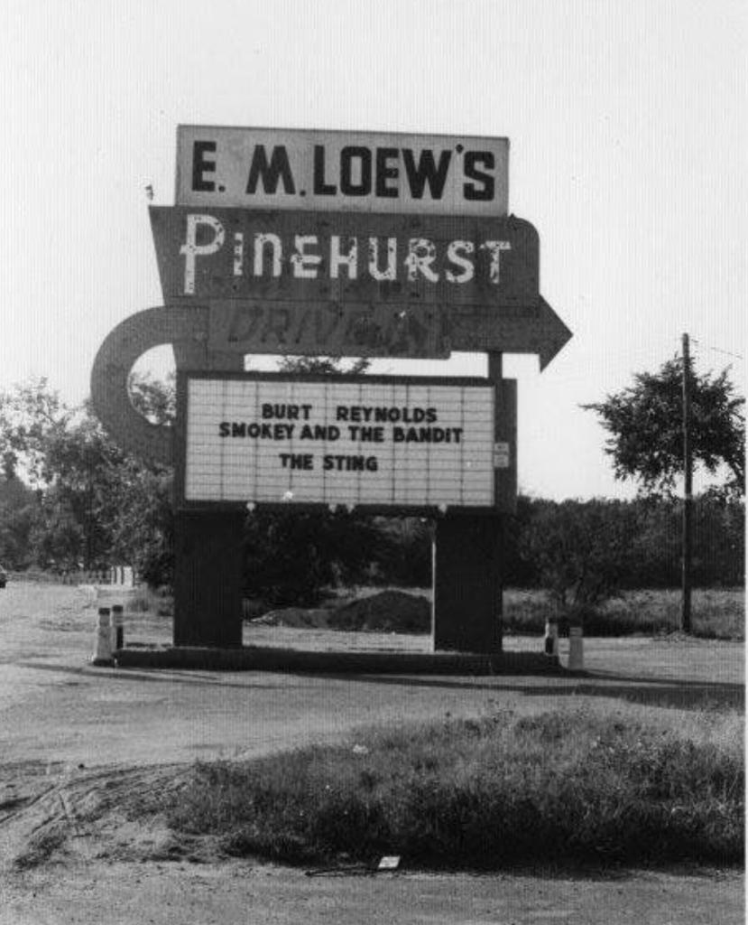 Pinehurst drive-in, Billerica, MA