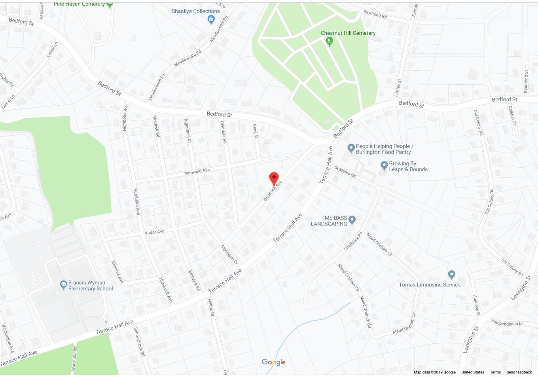 Druid Hill Ave. Burlington MA