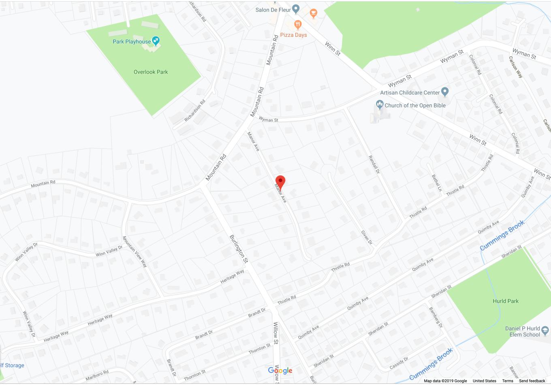 Manor Ave. Burlington MA