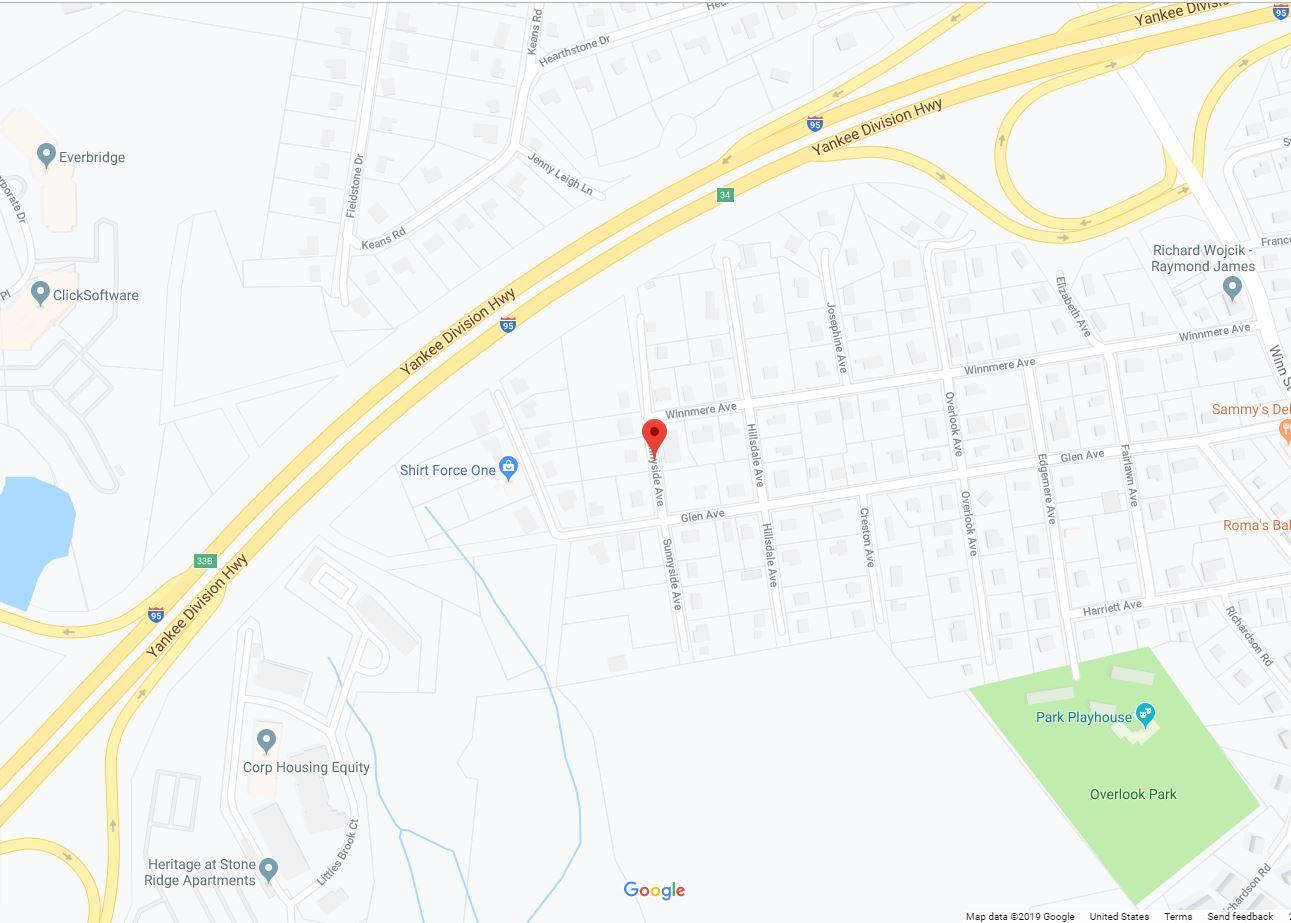 Sunnyside Ave. Burlington MA