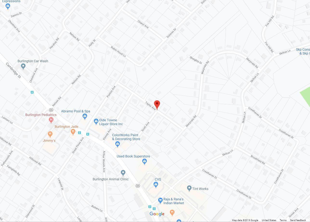 Taylor Ave. Burlington MA