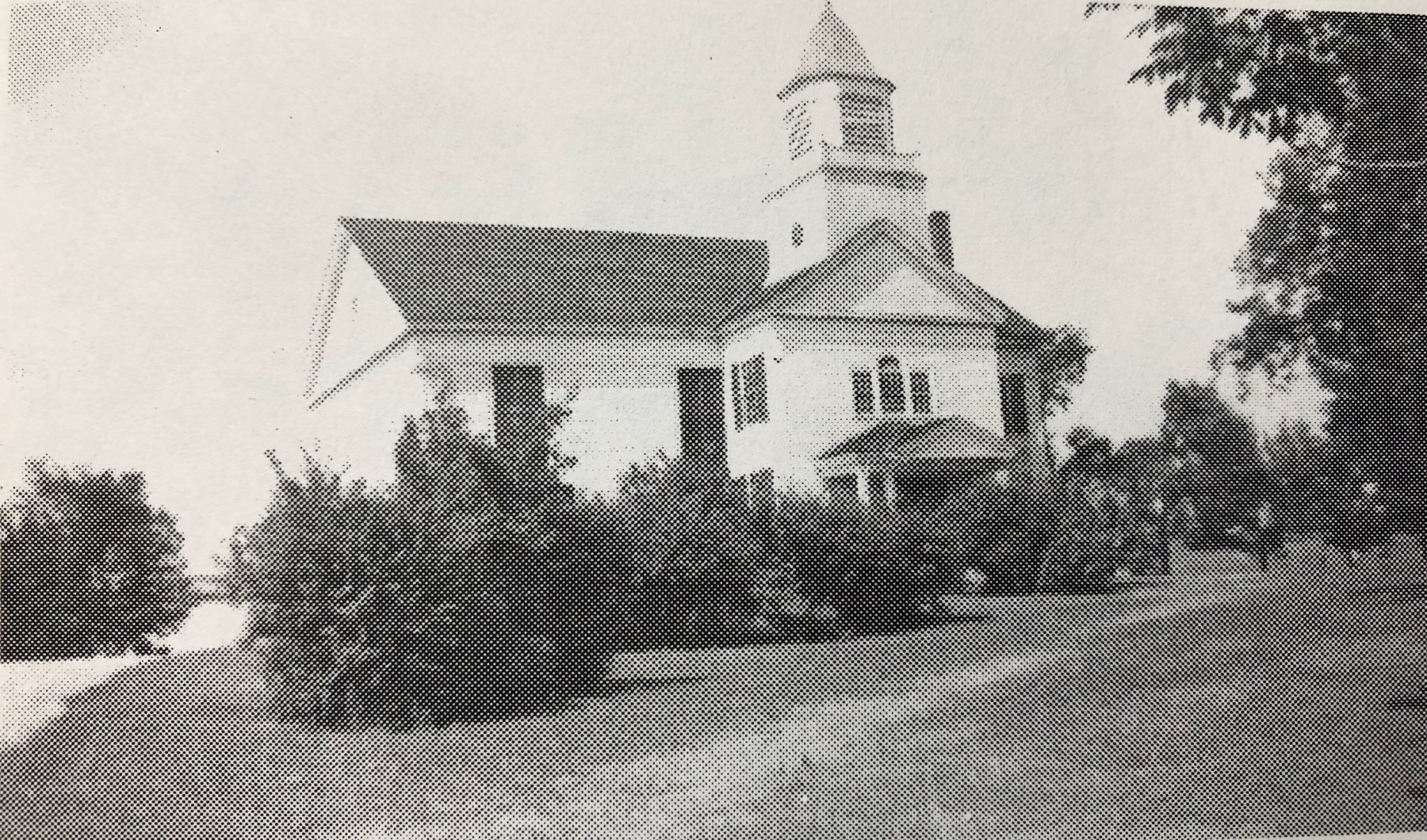 Church of Christ built in 1732, Lexington Street