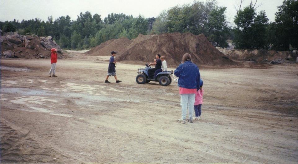 Sand pits and swimming holes 3, Burlington MA