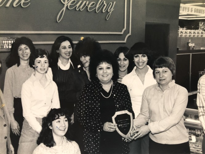 Service Merchandise jewelry crew Burlington MA