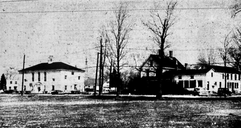"""Old"" Burlington Town Hall and Dodge House 1967 Burlington MA"