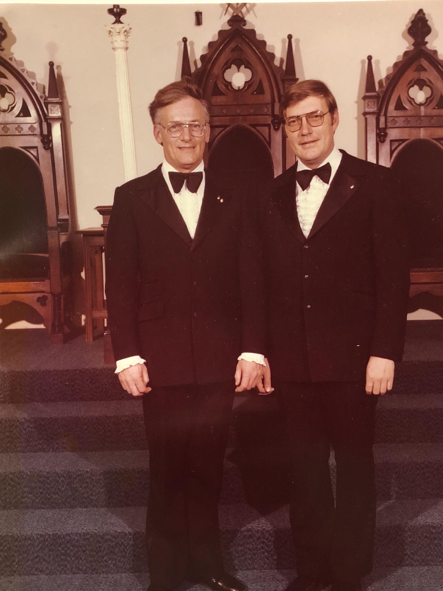 Simonds Lodge duo, Burlington MA.